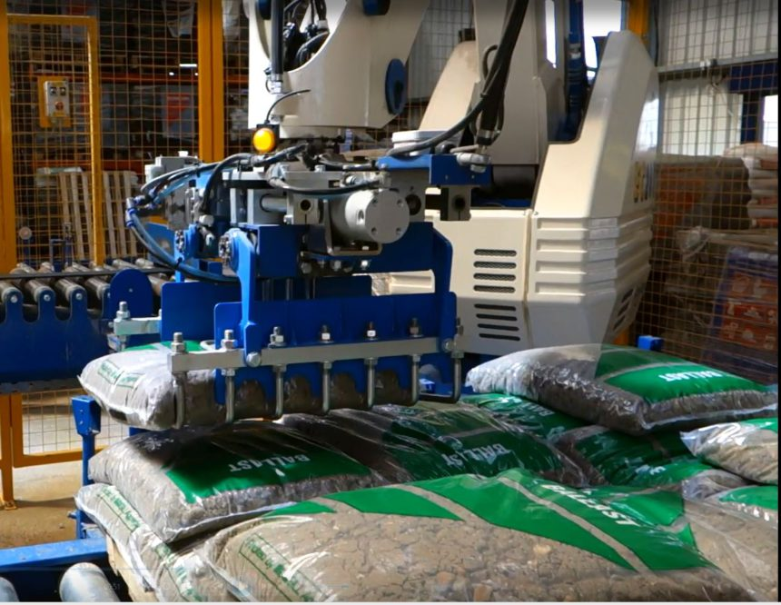 Automated bagging line to fulfil business